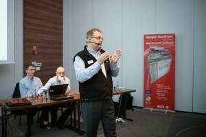 Krzysztof Sadziński zaprezentował najważniejsze nowości w systamach Apogee Prepress 9.0 i Asanti 2.0