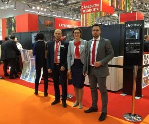 Polski zespół inkjetowy na targach FESPA 2015